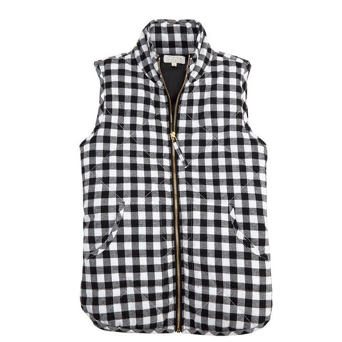 Ladies Fall Quilted Vest