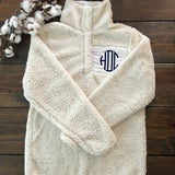 Ladies Sherpa Fleece Pullover