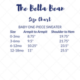 Baby Cable Knit One-piece Sweater