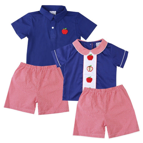 Alexander French Knot Apple Boy Outfit