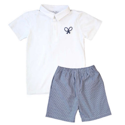 Edward Tennis Polo Set