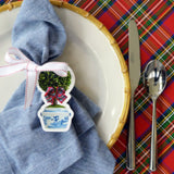 Red Tartan Paper Placemats