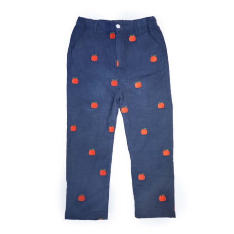 Navy Corduroy Pumpkin Pants