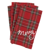 Holiday Tartan Cloth Napkins (set of 4)