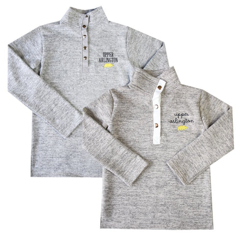 Upper Arlington Kids Heathered Fleece Pullover