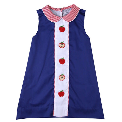 Amelia French Knot Apple Dress