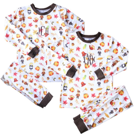 Tristian Thanksgiving Unisex Kid Loungewear