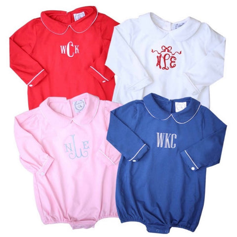 Classic Baby Long-Sleeve Bubble Bodysuits