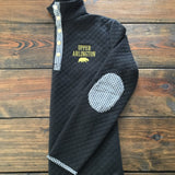 Ladies Fall Quilted Pullover