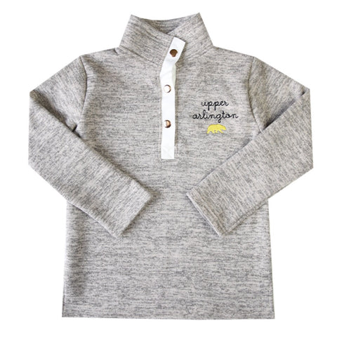Upper Arlington Ladies Heathered Fleece Pullover