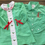 Holly Jolly Button-Down Shirt