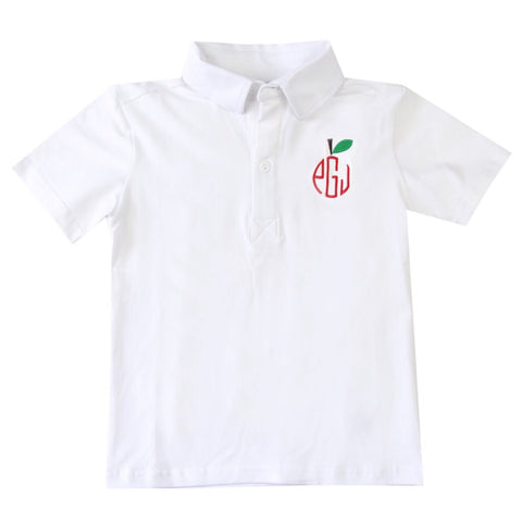 Monogram Apple Polo
