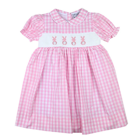 Peter Cottontail Smocked Bunny Dress
