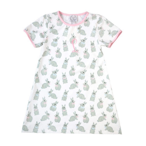 Somebunny Loves You Girls Sleepshirt