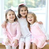 Pretty in Pink French Knot Tunic Play Dresses