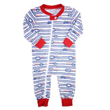 Nautical Knots Baby Zip-up Loungewear