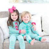Luck of the Irish Shamrock Girl Loungewear