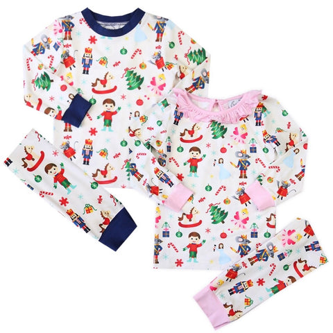 Children's Nostalgic Nutcracker Loungewear