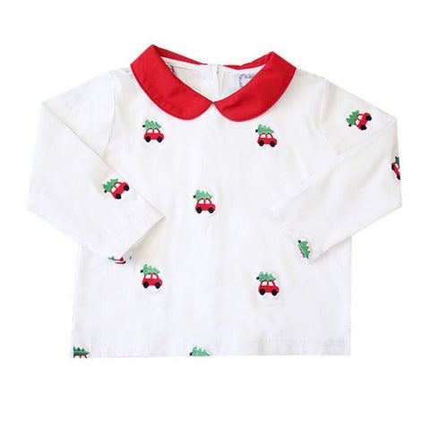 Children's Holiday Car Shirt