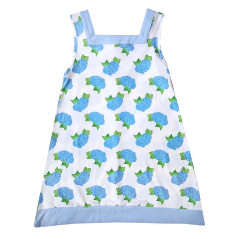 Blue Hydrangea Girls Loungewear Nightgown