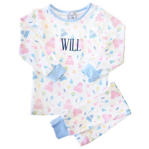 """My Special Day"" Birthday Boys Two-Piece Pant Set"