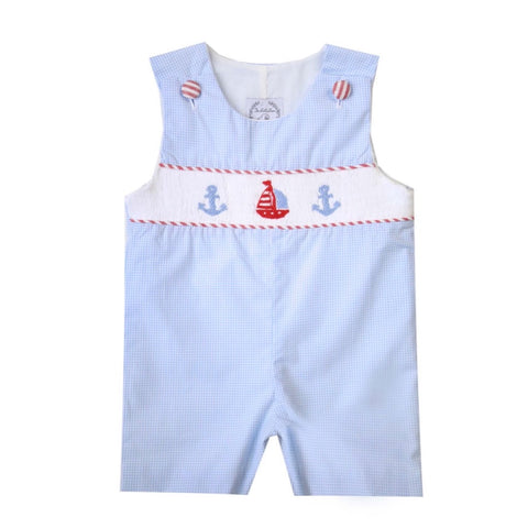 Set Sail Smocked Shortall