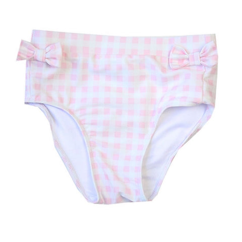 Campbell Girls Gingham Swim Bottoms