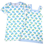Blue Hydrangea Ladies Loungewear Sleepshirt