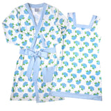 Blue Hydrangea Ladies Robe
