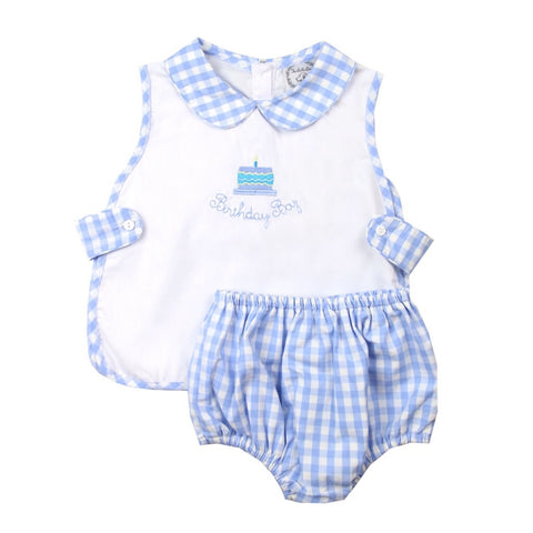Hooray it's my Birthday! Boy Bloomer Set