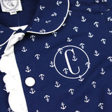 Ladies Anchor Loungewear Shorts Set