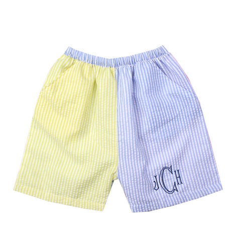 Caleb Color Block Shorts