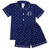Boys Anchor Loungewear Shorts Set
