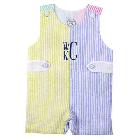Cooper Color Block Shortall