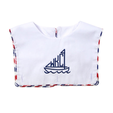 Liberty Blank Boy Bib