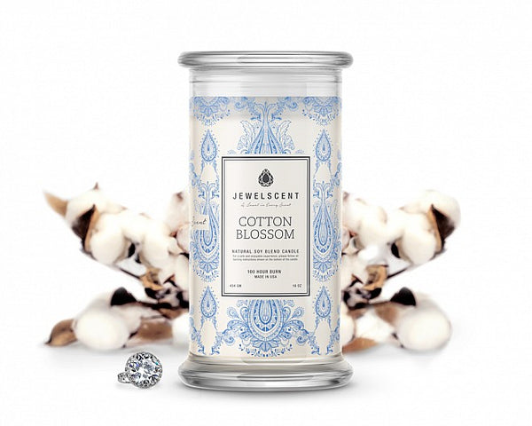 Cotton Blossom Jewelry Candle - Ms Lilly's Closet
