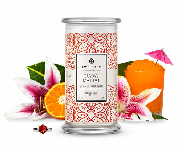 Guava Mai Tai Jewelry Candle - Ms Lilly's Closet