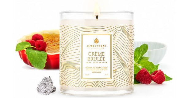 LUXE Creme Brulee Jewelry Candle - Ms Lilly's Closet