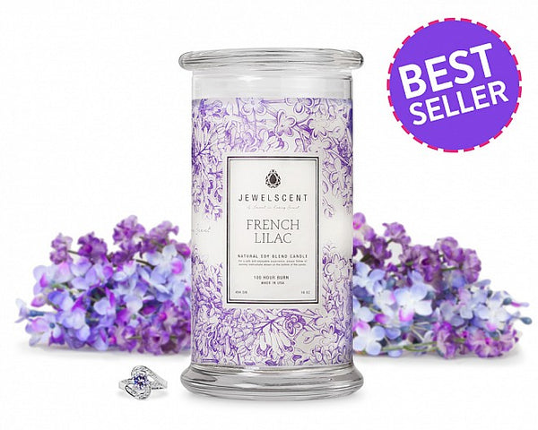French Lilac Jewelry Candle - Ms Lilly's Closet