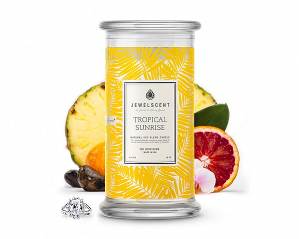 Tropical Sunrise Jewelry Candle - Ms Lilly's Closet