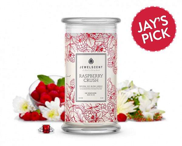 Raspberry Crush Jewelry Candle - Ms Lilly's Closet