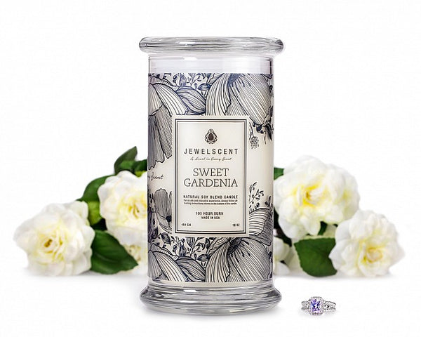 Sweet Gardenia Jewelry Candle - Ms Lilly's Closet