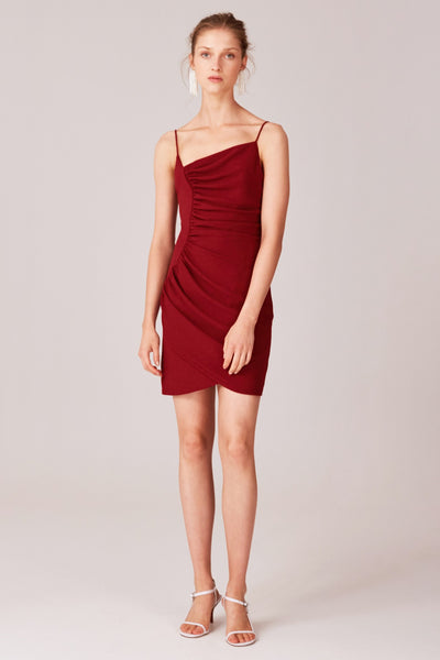 C/MEO Willining Mini Dress in Berry