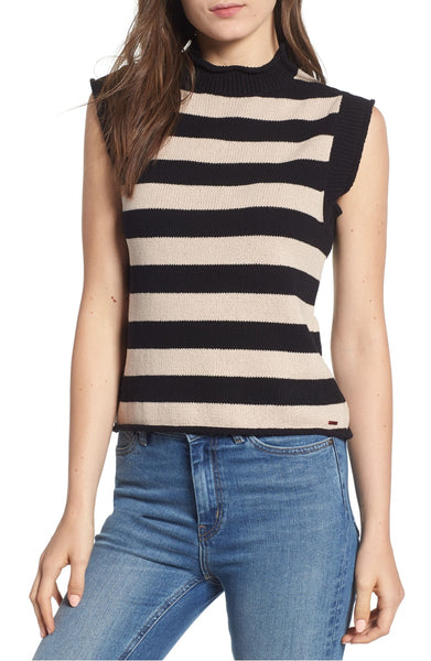 n: PHILANTHROPY Tenny Striped Sleeveless Sweater