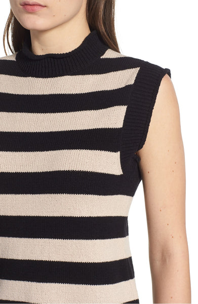 fe1df6d04bd0 n  PHILANTHROPY Tenney Striped Sleeveless Sweater – Beauty and Grace ...