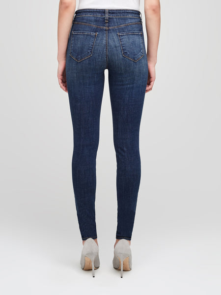 L'AGENCE Marguerite High Rise Skinny Jean in Moonseed