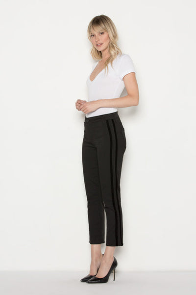 PARKER SMITH Cropped Tuxedo External Black