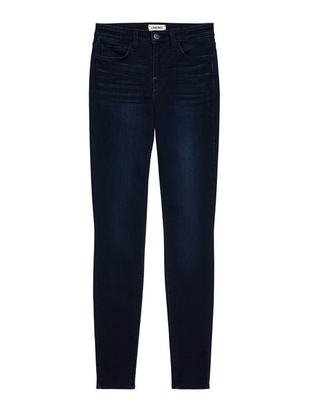 L'AGENCE Marguerite Skinny Jeans in Marino Blue