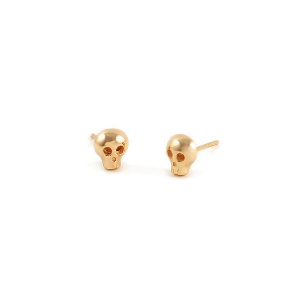 KRIS NATIONS Skull Stud Earrings