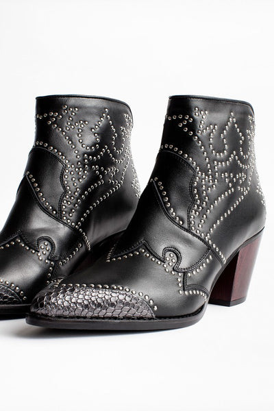 ZADIG \u0026 VOLTAIRE Cara Studded Ankle